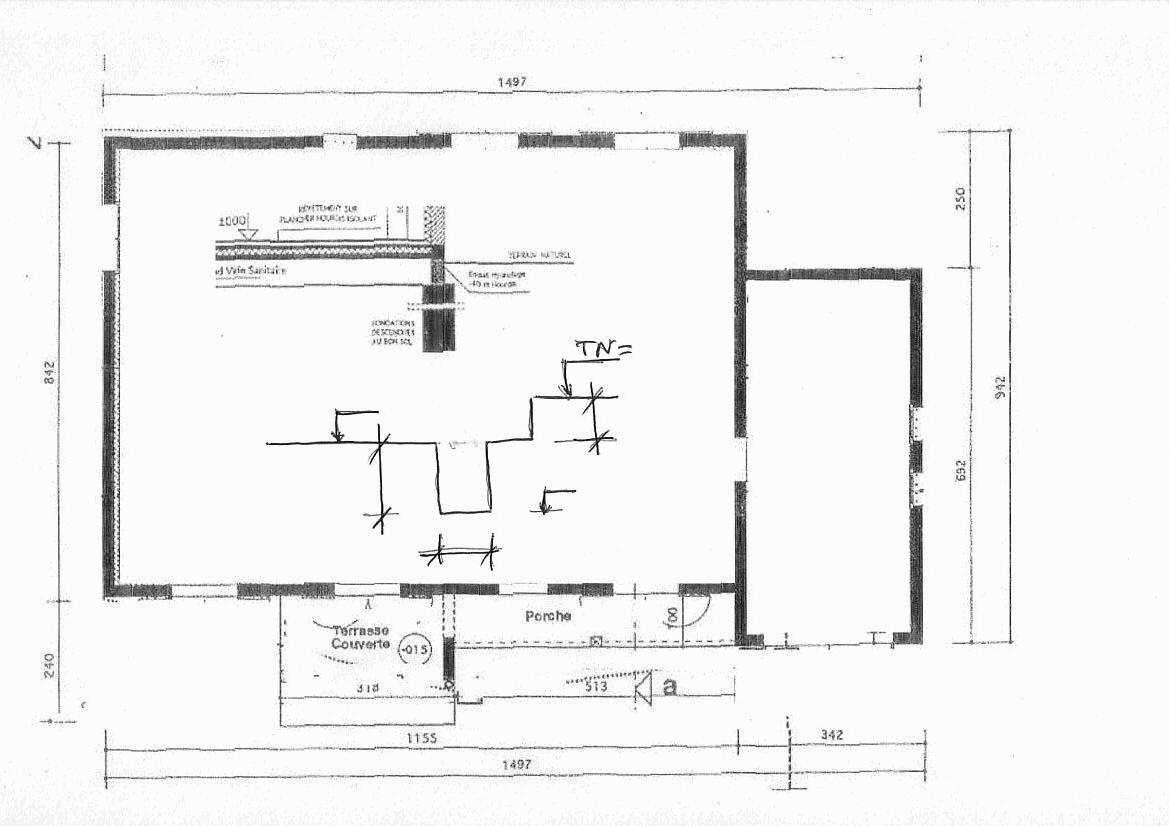 plan fondation maison individuelle maison moderne